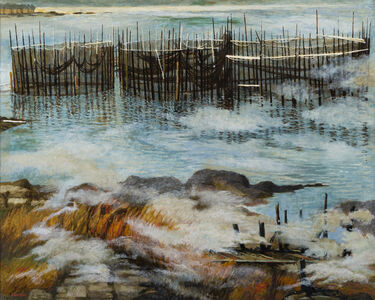 Anne Lyman Powers, 'Fish Weirs at Campobello'