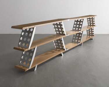 Ali Tayar, 'Stackable Shelving System in Wood and Aluminum', 1992