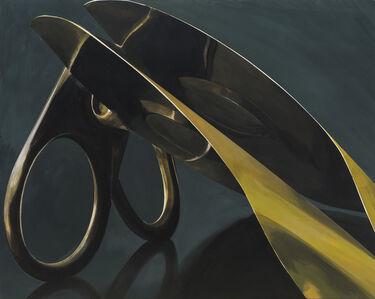 Zhan Chong, 'Metal sheets', 2019