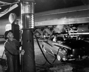 O. Winston Link, 'Sometimes the Electricity Fails, Vesuvius, Virginia', 1956