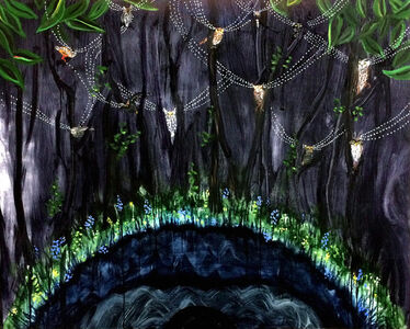 Mary Devincentis, 'Night Forest', 2017