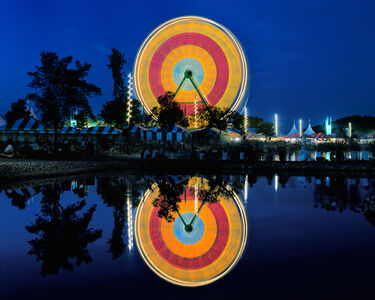 Roger Vail, 'Giant Wheel and Reflection', 2001