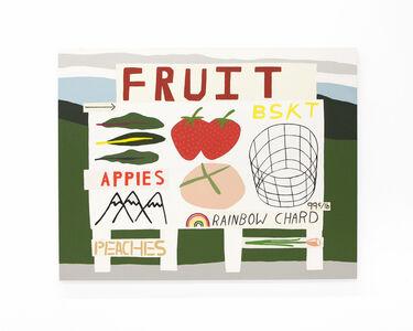 """Ryan Whelan, '""""Fruit Basket Appies Rainbow""""', 2018"""