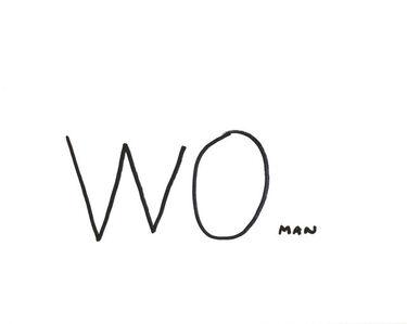 Dan Perjovschi, 'Resist Drawings (WOman)', 2018