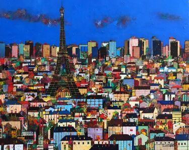 Jean-Francois Larrieu, 'Les Toits de Paris', 2020