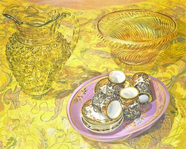 Janet Fish, 'Bob's Brocade', 2000