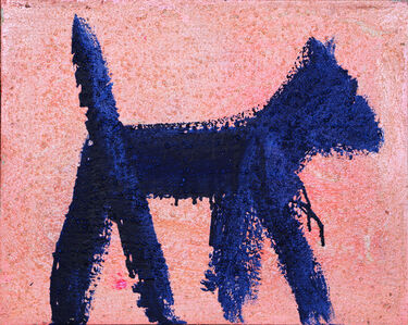 Peter Mayer, 'Dog Painting 2', 1990