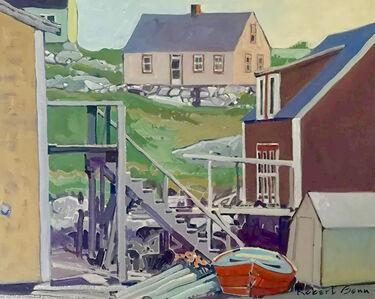 Robert Genn, 'House Patterns', 1979