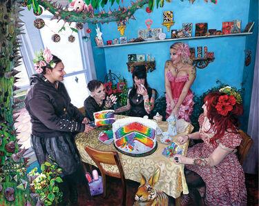 "Natalia Fabia, '""Kate is Great and the Rainbow Cake""', 2011"