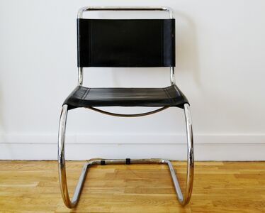 Ludwig Mies van der Rohe, 'Set of four armchairs, by Ludwig Mies van der Rohe'