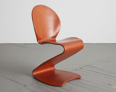 Verner Panton, 'S-Chair, Model 276', Designed by Verner Panton in 1956-this example manufactured ca. 1965