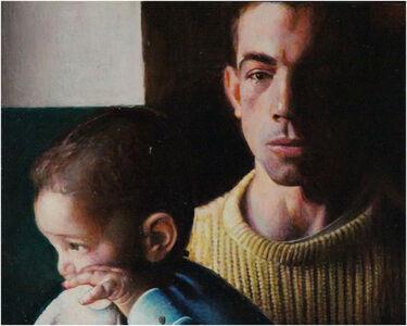 Rudolf Häsler, 'Der Fakir und sein Sohn', 1986