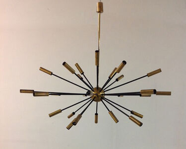 Stilnovo, 'Sputnik twenty-seven light pendant lamp', 1955
