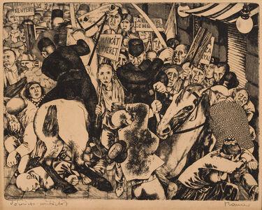 Dóra Maurer, 'Bloody Thursday ', 1960's