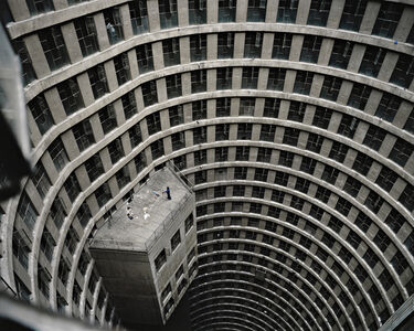 Mikhael Subotzky, 'Sweeping the Core, Ponte City', 2012