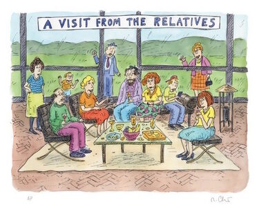 Roz Chast, 'A Visit From the Relatives', 2013