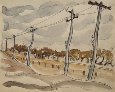 Arthur Garfield Dove, 'N.Y.C.R.R.', 1934