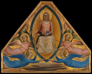 Bernardo Daddi, 'The Assumption of the Virgin', ca. 1337–1339