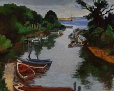 Moses Soyer, 'Long Island Bay', 1899-1974