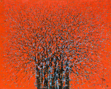 Ablade Glover, 'Red Forest II', 2019