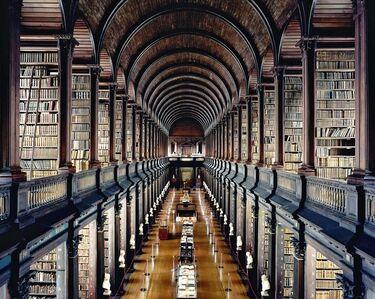 Candida Höfer, 'Trinity College Library Dublin I 2004 ', 2004