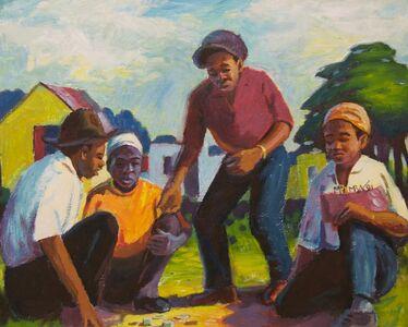 George Pemba, 'Dice Players', 1991