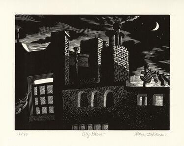Karen Whitman, 'City Glow.', 2009