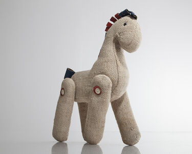 """Renate Müller, '""""Therapeutic Toy"""" Horse', 1968"""