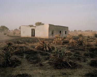 """Andréas Lang, '""""Nameless Building"""", Tchad', 2012"""