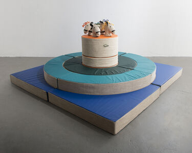 """Renate Müller, 'Unique """"Universe II: Shadows on the Moon"""" Play Sculpture', 2015"""