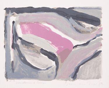 Bram van Velde, 'Abstract in blue and purple', 1969