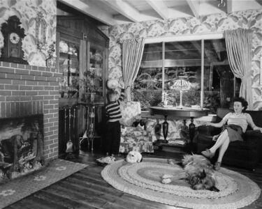 O. Winston Link, 'Living Room on the Tracks, Lithia, Virginia', 1956