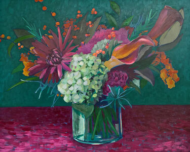 Kevin Morris, 'Hydrangeas and Lilies', 2017