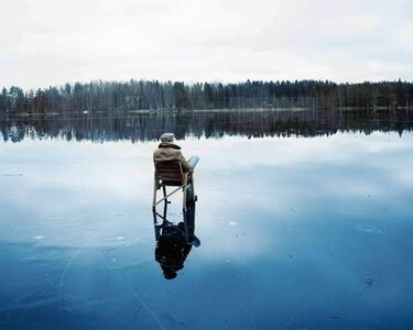 Ville Lenkkeri, 'On the Thin Ice of Remembrance', 2014