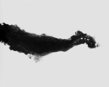 Fabio Barile, 'Simulation of river dynamics and erosion pat- terns in darkroom with sand, developer and silver gelatin paper.', 2015