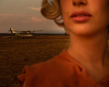 Tania Franco-Klein, 'Plane (Self-portrait) from Proceed To The Route', 2018