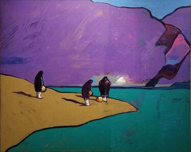 John Nieto, 'Gathering Water at Acoma', 1984
