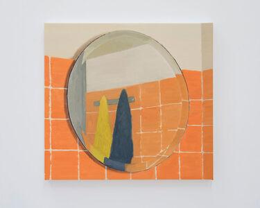 Roger White, 'Orange Mirror (First Version)', 2016
