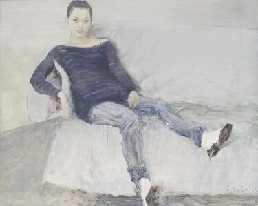He Duoling, 'Portraiture of  Wang Lejia', 2013