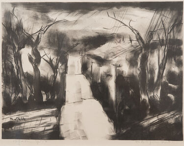 B. J. O. Nordfeldt, 'Road Over the Hills', c. 1950