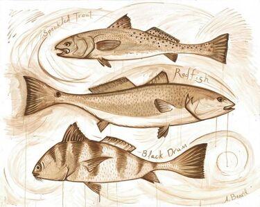 Alex Beard, 'The Emeril Fish', 2018