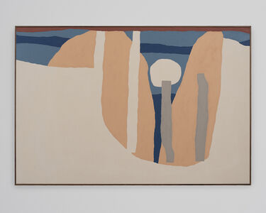 Cody Hudson, 'Landscape Painting Based on Lasting Positive Experiences (Sit in a Room / Bang a Gong)', 2019