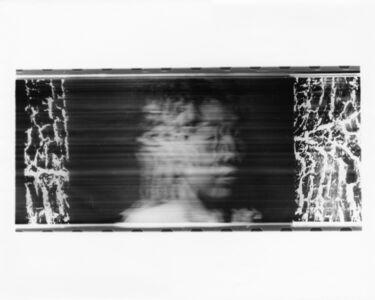 Paolo Gioli, 'Volto attraverso la corteccia di un albero', 1996