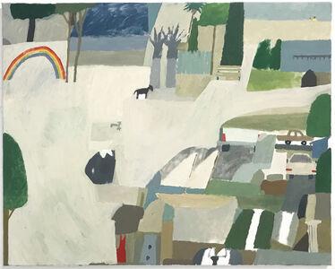 Mariel Capanna, 'Shoreline, Palm Tress, Rainbow, Tie', 2018