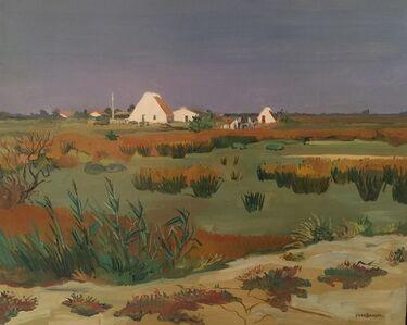 Yves Brayer, 'Champs Vert', 20th Century