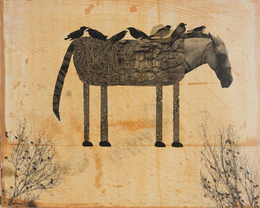 Holly Roberts, 'Horse with Birds Resting', 2019