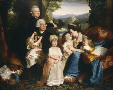 John Singleton Copley, 'The Copley Family', 1776/1777