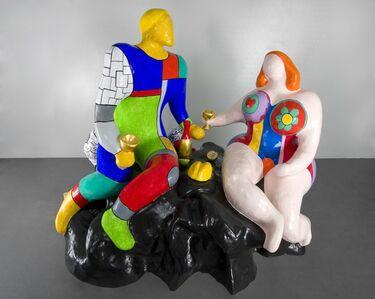 Niki de Saint Phalle, 'Adam et Eve ', 1985