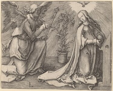 Lucas van Leyden, 'The Annunciation', ca. 1516