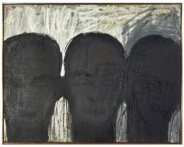 Lester Johnson, 'Three Men', 1960